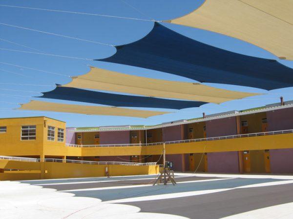 Tenso Estructura Cubierta Patio Colegio Laura Robles – 2011