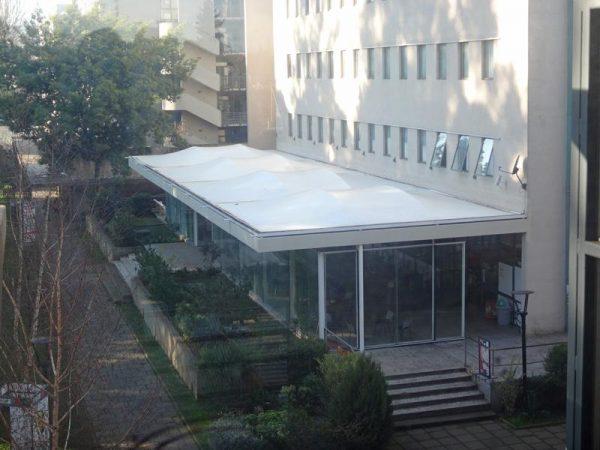 Terraza Cafetería Edificio Educación U. Autónoma de Chile, Sede Temuco – 2014