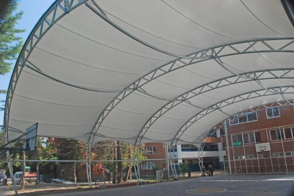 Cubierta Multicancha Colegio Denham School – 2016