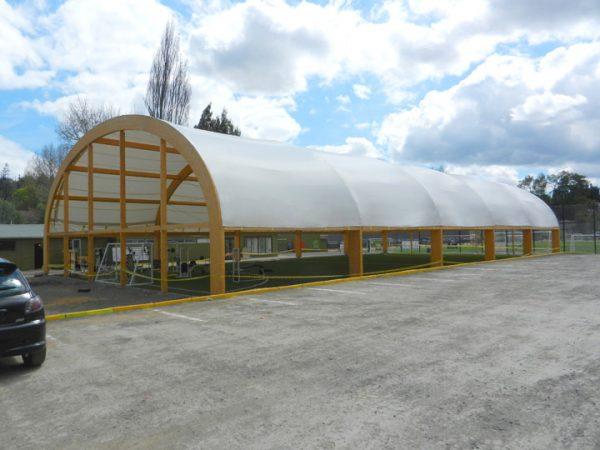 Cubierta Multicancha D. Concepción – 2012