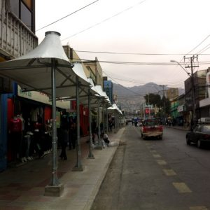 Cubiertas Tensada Boulevard Calle Maipú