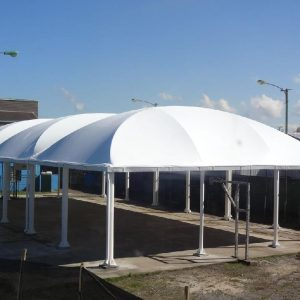Tensoestructura Liceo Benjamin Vicuña Mackenna