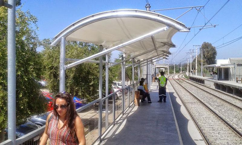 Cubierta tensada Metro Estación Peñablanca