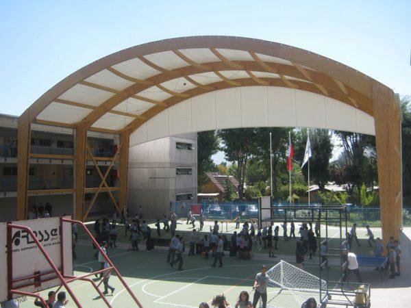 Multicancha Colegio Juan Pablo 2 -2014