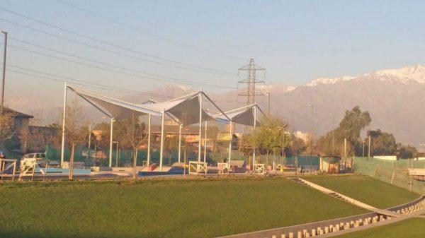 Parque La Aguada, San Joaquin, Santiago – 2016