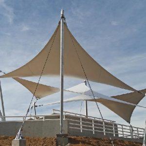Tensoestructuras Parque Mirador Cerro Colipí