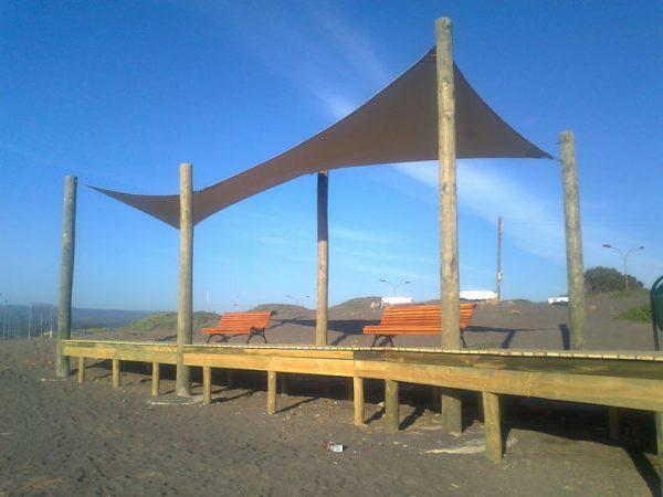 Velas de Sombra Borde Costero Pichilemu – 2011