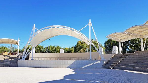 Cubierta Anfiteatro & Escenario Estero Piduco – 2017