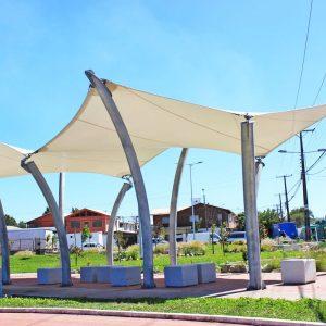 Tensoestructura Plaza Sector Higueras