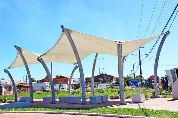 Tenso Estructura Plaza Sector Higueras – Talcahuano – 2017