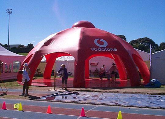 Vodaphone Inflatable