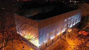 Fachada Textil Edificio de Seguridad 1