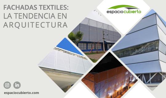 Fachadas textiles